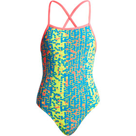 Funkita Strapped In One Piece Badeanzug Mädchen second skin